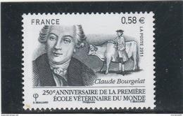 France 2011 CLAUDE BOURGELAT NEUF YT 4553 - - Nuevos