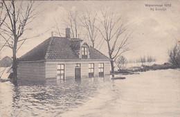 483485Kwadijk, Watersnood 1916 Bij Kwadijk. (poststempel 1916)(minuscule Vouwen In De Hoeken) - Other