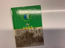 Post Agenda 1987 ZNP 19 OCB 2210  ( Ongebruikt - Pas Utilisé) !! Rare! Zeldzaam - Zwarte/witte Blaadjes