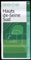 Métro Paris - HAUTS De SEINE SUD N° 4 - Complet - Octobre 2006 - Europe