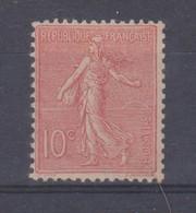 N°129* Type II - 1906-38 Säerin, Untergrund Glatt