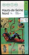Métro Paris - HAUTS De SEINE NORD N° 6 - Complet - Février 2003 - Europe