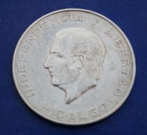 Monnaie En Argent Mexique 10 Pesos 1956 - Mexico