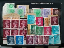 (GB03) Lot Timbres Grande Bretagne, Great Britain, Elizabeth II - Unclassified