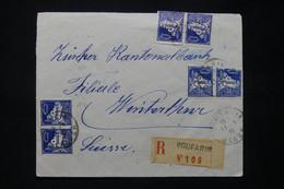 ALGÉRIE - Enveloppe En Recommandé De Boufarik En 1930 Pour La Suisse - L 79038 - Storia Postale