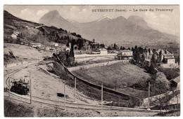 38-SEYSSINET ( Isère) - La Gare Du Tramway- CPA- Scans Recto-verso - Altri Comuni