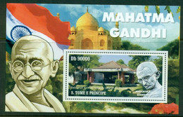 SAO TOMÉ ET PRÌNCIPE 2010 Mi BL 789** Mahatma Gandhi [DP1278] - Mahatma Gandhi
