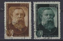 Rusland   Y / T  988 / 989    (O) - Gebruikt