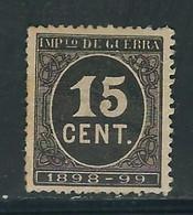 ESPAGNE Impot De Guerre N° 25 * - Kriegssteuermarken