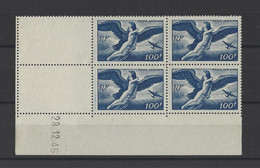 FRANCE  YT Coins Datés PA N° 18  Neuf **  1946 - Airmail