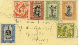 Papua Cover To Australia 1941 (9) - Papua New Guinea