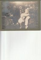 Photo Années 30/40 : 2 Couples Sur Moto - Ohne Zuordnung