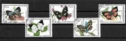 """Cuba 2000 - Série Complète """"Papillons"""" - Oblitérée - Used - Mariposas"""