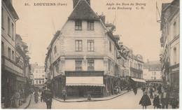 27Louviers Angle Des Rue Du Matrey Et Du Neubourg - Louviers