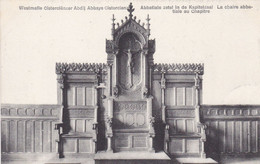 Westmalle, Cisterciënzer Abdij, Abbatiale Zetel In De Kapitelzaal (pk74298) - Malle