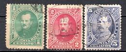 COSTA RICA - (Amérique Centrale) - 1883 - N° 12 à14 - (Effigie De P. Fernandez) - America Centrale