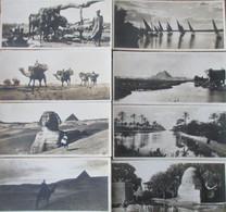 Egypte- 13 Post-Card.  Format 15  X 7 - Non Classificati