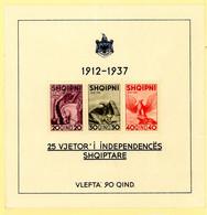 Albania Mi Bl 1 Mint Unhinged (43) - Albania