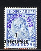 Albania Shkoder Mi 7 Mint Unhinged (51) - Albanien