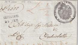 LENDINARA Per Occhiobello 28.9.1845 - 1. ...-1850 Prefilatelia