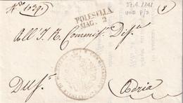 POLESELLA Per Adria 27.4.1841 - 1. ...-1850 Prefilatelia