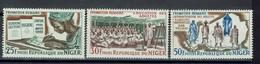 Niger - Réf. Yvert - Postes N° 159 - 160 - 161 - Neufs - XX - MNH  -TB - - Niger (1960-...)