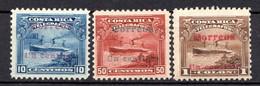 COSTA RICA - (Amérique Centrale) - 1911 - N° 80 à 83 - (Lot De 3 Valeurs Différentes) - America Centrale