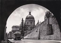 BRESCIA - GALLERIA DEL CASTELLO - TRAM/ FILOBUS 38 - 1953 - Brescia