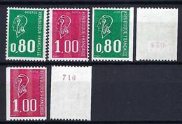 FRANCE 1976: Les Y&T 1891e-1892e, 1893b Et 1894a-1895a, Gomme Tropicale, Neufs** - Unused Stamps