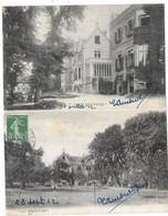 HOULGATE (14) 2 Cartes Villa Nommée LES BEQUETTES - Houlgate