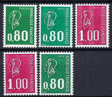 FRANCE 1976: Lot De TP Avec Gomme Métropolitaine, Neufs** - Unused Stamps