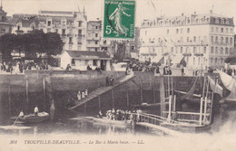 TROUVILLE-DEAUVILLE - Le Bac à Marée Basse - Trouville