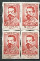 N° 1170 NEUF BLOC DE 4 , Gomme Altérée -  Lr32807 - Unused Stamps