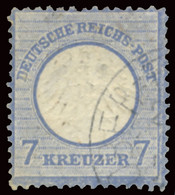 GERMANY EMPIRE DEUTSCHES REICH 1872 7 KR. (Mi 10) USED - Used Stamps