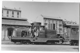NICE Ou Environs (06) Photographie Format CPA Tracteur Pour Manoeuvres Chemins De Fer De La Provence 1948 - Non Classificati