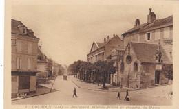 GOURDON - Boulevard Aristide Briand Et Chapelle Du Majou - Gourdon