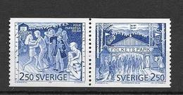 1991 MNH Sweden,Michel 1672-3, Postfris - Neufs