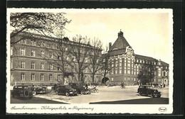 AK Gumbinnen, Königsplatz U. Regierung - Ostpreussen