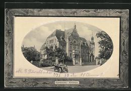 AK Gumbinnen, Kreishaus In Passepartout - Ostpreussen