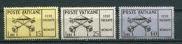 Vaticano - 1958 - Sede Vacante ** - Neufs