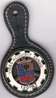 T 3/ PL Milit.3) 8 > Breloque à Identifier En Métal Support Cuir - Other