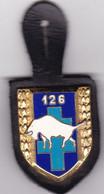 T 3/ PL Milit.3) 10 > Breloque à Identifier En Métal Support Cuir - Other