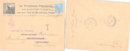 LETTRE PUBLICITAIRE LA PORCHERIE FRANCAISE PARIS 12.10.1925 /1 - Lettres & Documents