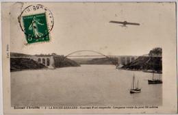 LA ROCHE BERNARD - Souvenir D'aviation, Nouveau Pont Susendu ... - CPA Bon Etat (voir Scan) - La Roche-Bernard