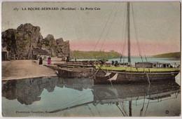 LA ROCHE BERNARD - La Petite Cale - BATEAU, VOILIER - CPA Aquarellée TBon Etat (voir Scan) - La Roche-Bernard