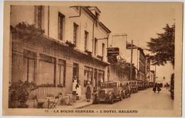 LA ROCHE BERNARD - L'HOTEL HALGAND - NOTE AU VERSO, AUTOMOBILE - CPA TBon Etat (voir Scan) - La Roche-Bernard