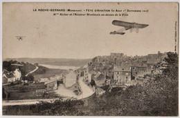 LA ROCHE BERNARD - Fête D'aviation 1913 ... - MARTHE RICHARD, MONTMAIN - CPA Bon Etat (voir Scan) - La Roche-Bernard