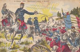 CPA - Militaria - 1914-18 - Le Général PAU - Commandant L'Armée D'Alsace - ( Magenta Solférino) - Carte Colorisée - War 1914-18