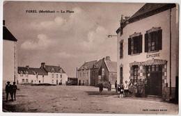 FEREL - La Place - EPICERIE - CPA TBon Etat (voir Scan) - Other Municipalities