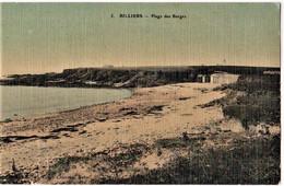 BILLIERS - Plage Des Barges - CPA Toilée Et Colorisée TBon Etat (voir Scan) - Other Municipalities